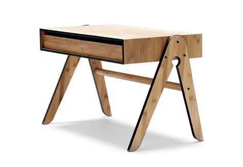 schreibtisch kinder schreibtisch f 252 r kinder geo table in bambus schwarz we