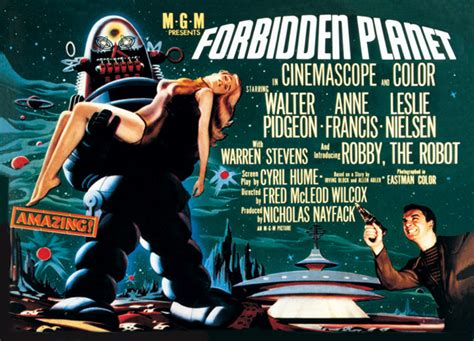 forbidden planet poster sold at europosters