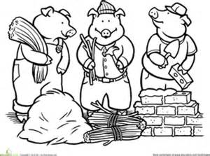 color pigs worksheet education
