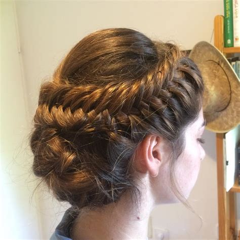 long hair with height in crown side crown braid hairstyle stars long hairstyles