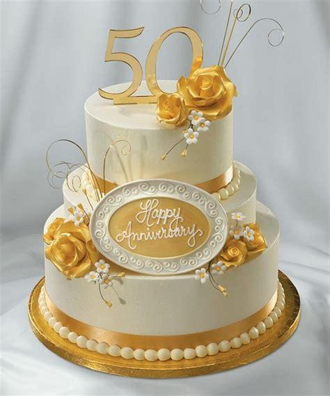 Www 50th Wedding Anniversary Ideas by Enchanting 50th Wedding Anniversary Cake Ideas