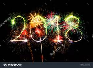 new year fireworks 2018 new york happy new year 2018 colorful sparkle stock photo 503201413