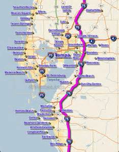 interstate 75 map