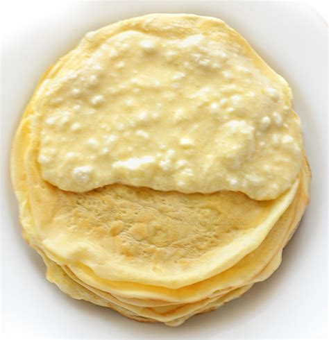 Cottage Cheese Crepe Filling by Baked Pancakes With Cottage Cheese