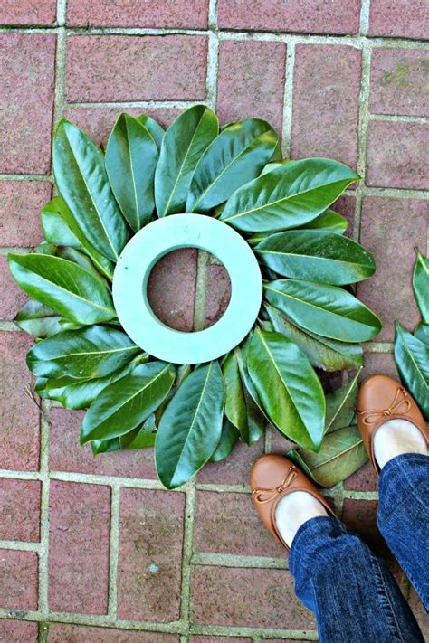 how to make a magnolia wreath southern living 25 best ideas about magnolia wreath on pinterest faux