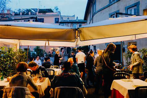 best restaurants in rome trastevere trastevere restaurant an american in rome