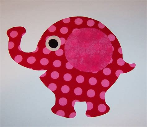 applique templates fabric applique template pattern only elephant by
