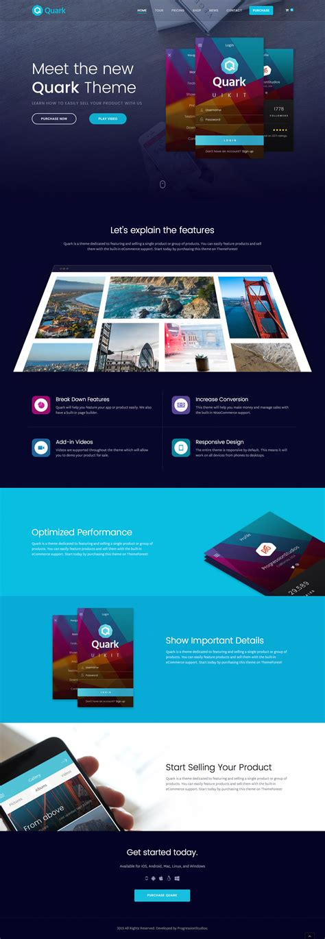 shopify themes for single product quark single product shopify theme by masstechnologist