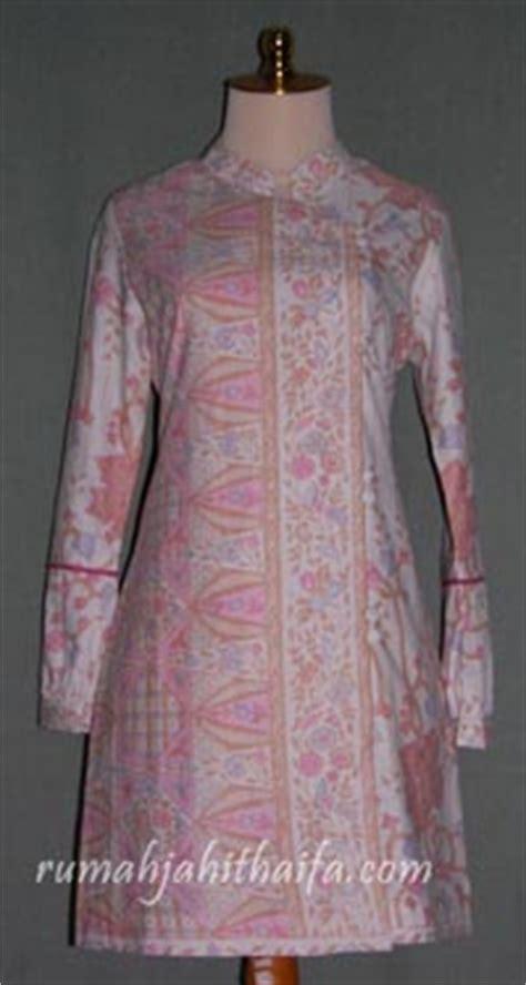 Baju Blouse Blus Katun Nov batik sasirangan rumah jahit haifa