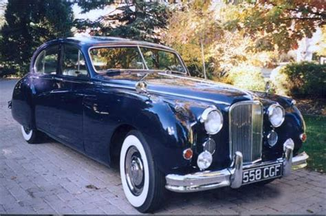 1955 JAGUAR MARK VII M SALOON   23197