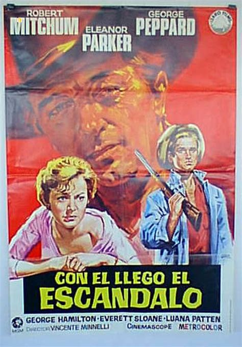 quot con el llego el escandalo quot movie poster quot home from the hill quot movie poster