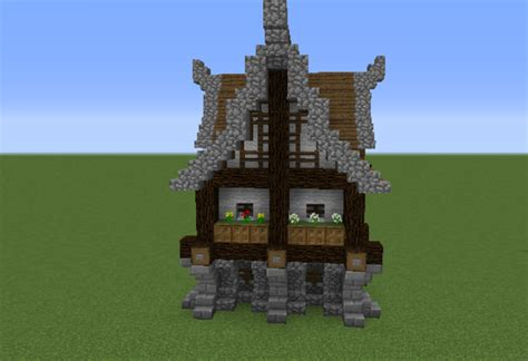 Seaside Cottage Plans Medieval House 1 Grabcraft Your Number One Source For