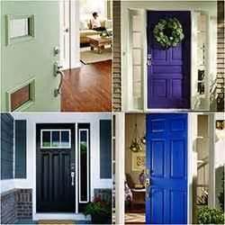 choose  front door paint color