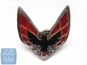Pontiac Firebird Emblem 1970 71 Pontiac Firebird Nose Emblem Black Ebay