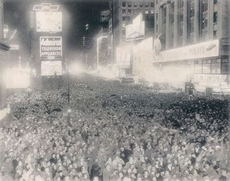 new year 1952 times square new year s celebrations of the past