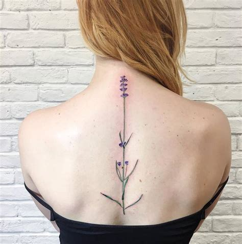 20 beautiful lavender tattoo designs and ideas