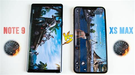 iphone xs max vs galaxy note 9 speed test you may be surprised