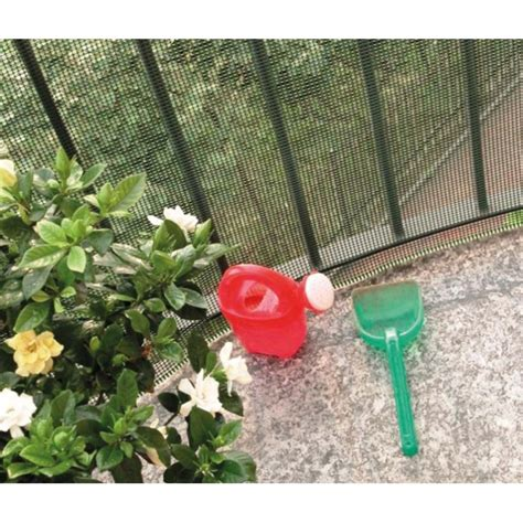 rete verde per giardino rete per balconi protettiva verde