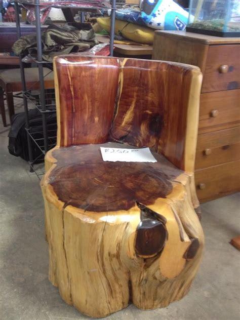stump chair 23 best cedar stump ideas images on home ideas