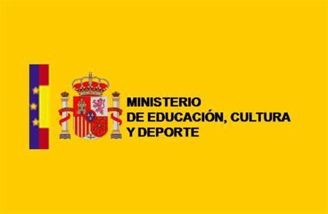 ministerio de educacin cultura y deporte portal del icaa becas del ministerio de educaci 211 n para estudiantes by blogim