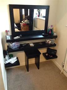 diy dressing table room in the