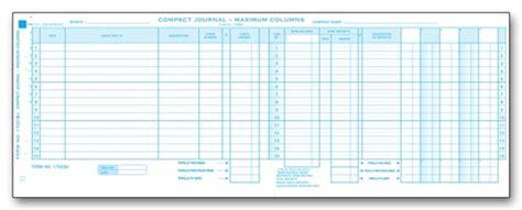 disbursement journal compact disbursement journal
