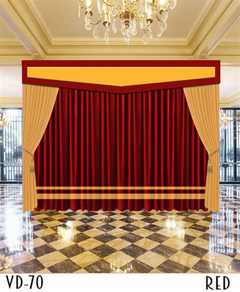 church stage curtains luxury hotel stage church curtains
