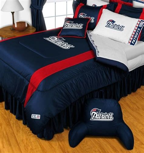 new england patriots bedroom new england patriots nfl bedding sidelines complete set