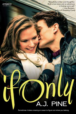 if only books book review if only by a j pine gemstreetreviews
