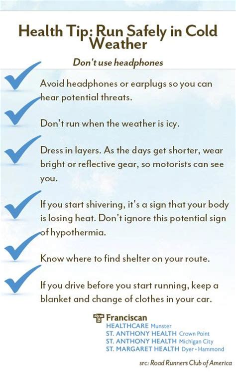 running safety tips safety tips for winter weather running exercise