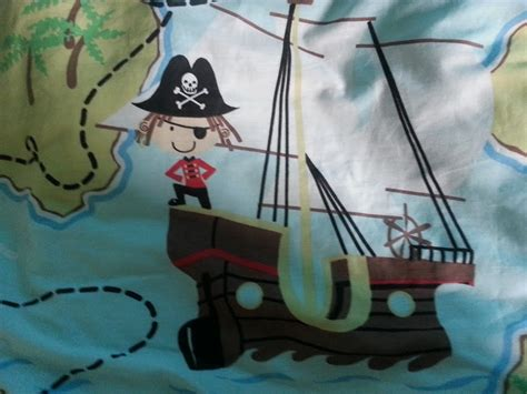 Pirate Toddler Bedding Set From The Treasure Quest Range At Children S Rooms Baby The Brick Castle Pirate Treasure Quest Bedding Elinens Review