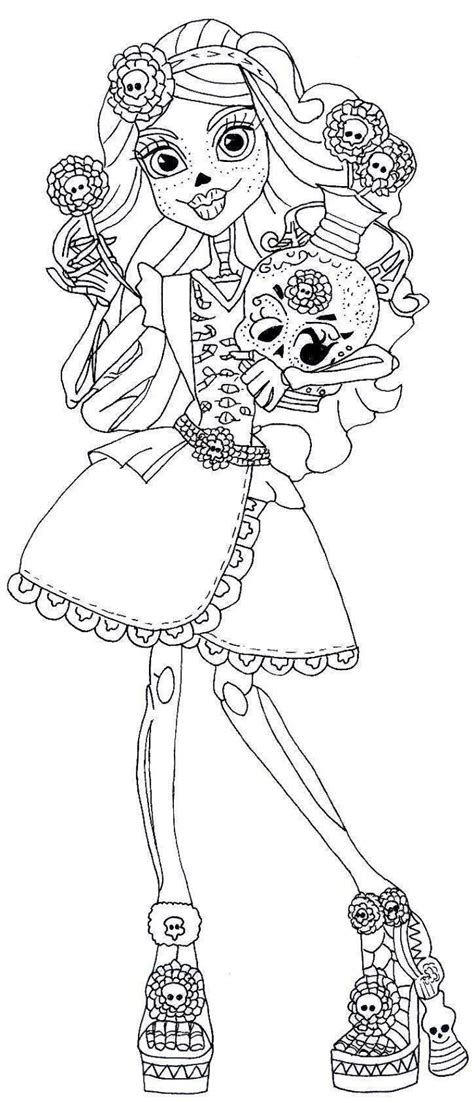 monster high coloring pages catrine demew monster high catrine coloring sheets coloring pages