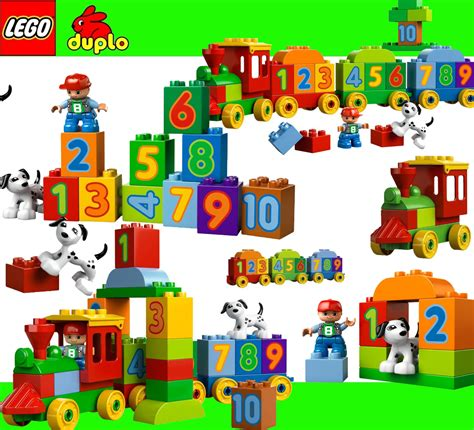 Lego Duplo 10558 Number lego duplo 10558 number learning numbers