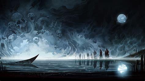 night magic gothic photos skulls sorcery gothic fantasy fantasy moon night