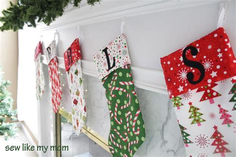 sewing christmas stockings instructions christmas stockings by sew like my mom craftsy
