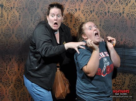the fear factory haunted house hilariously funny reactions captured at nightmares fear factory haunted house lost