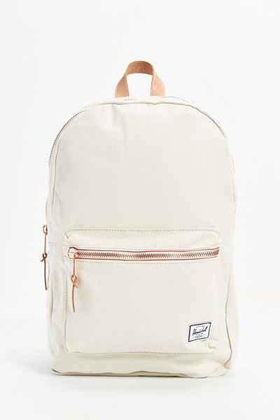 White Backpack Bag herschel supply co settlement select backpack