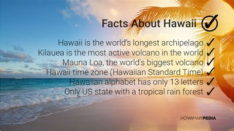 hawaii beaches facts