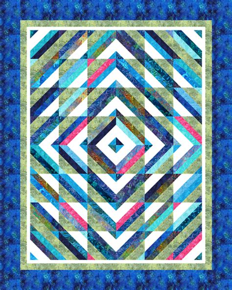 Top Quilt Pattern by Top Designer Pattern Robert Kaufman Fabric Company