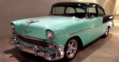 modified 1956 chevrolet 2 hot rod american cars hot cars
