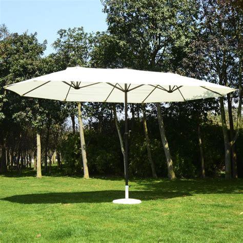 outsunny ft patio umbrella outdoor sun shade canopy