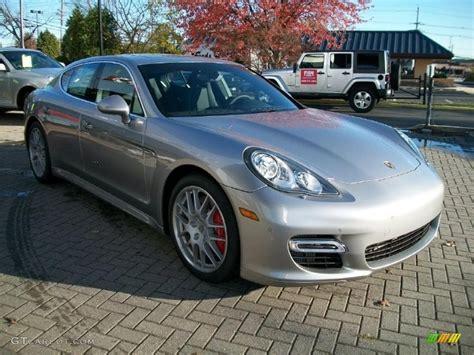 porsche panamera silver platinum silver metallic 2011 porsche panamera turbo