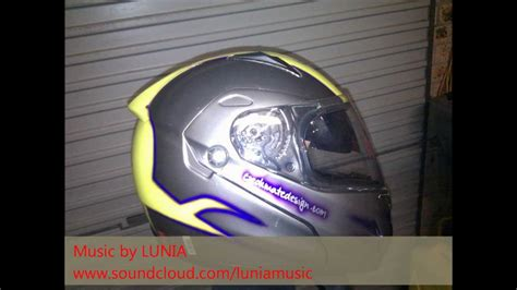 spray paint helmet czm8 design mate design unique custom motorbike