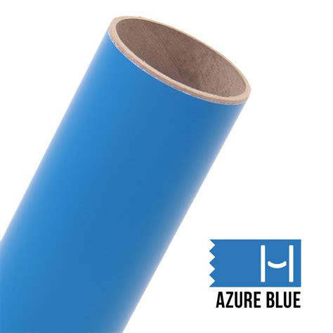 oracal 631 matte adhesive vinyl azure blue large happy crafters canada
