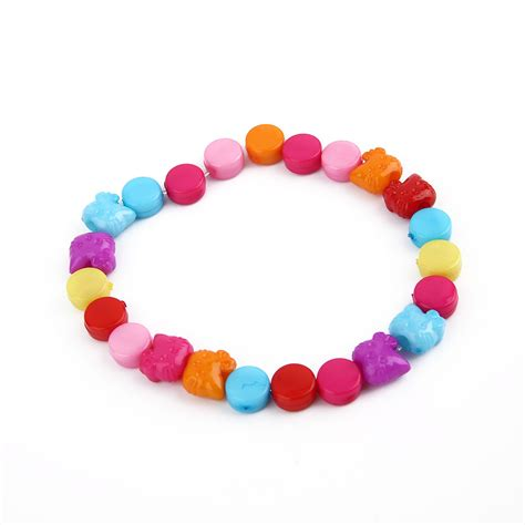 Creative Children 24 Grids Candy Colors DIY Wear Beads Bracelet Kids Toys#Y   eBay