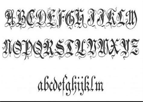 tattoo fonts no download amazing fonts ideas for android apk