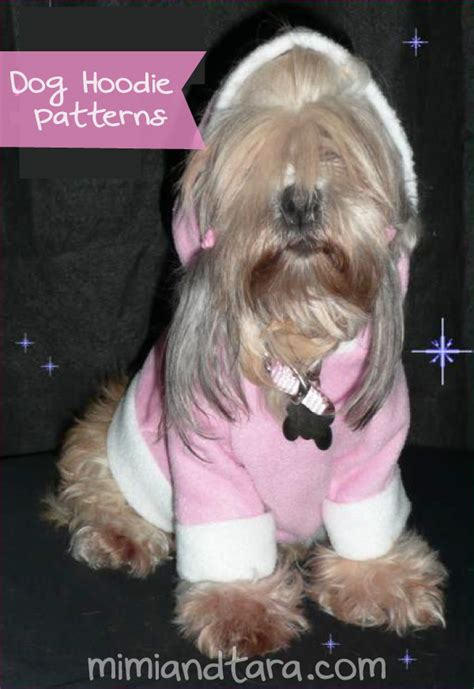 pattern dog hoodies dog hoodie patterns free pdf download