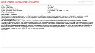 Infection Cover Letter infection title