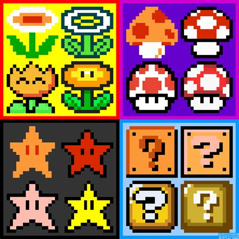 Top 7 Powerups by Power Up Evolution By Brain Mario Bros