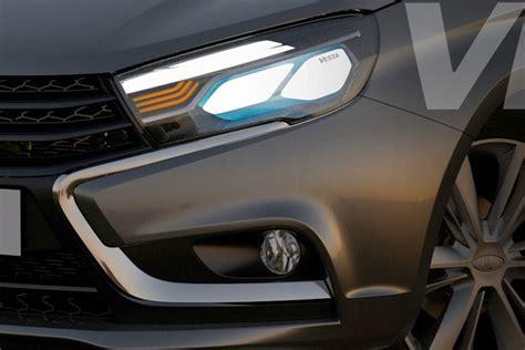 Modern Lada Lada Vesta Toont Modern Binnenste Autonieuws Autoweek Nl